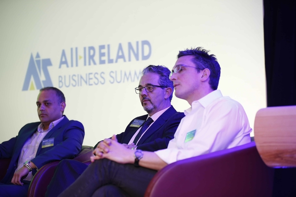 *** NO REPRODUCTION FEE *** DUBLIN : 13/5/2015 : Pictured at the All-Ireland Business Summit at Croke Park. Picture Conor McCabe Photography.